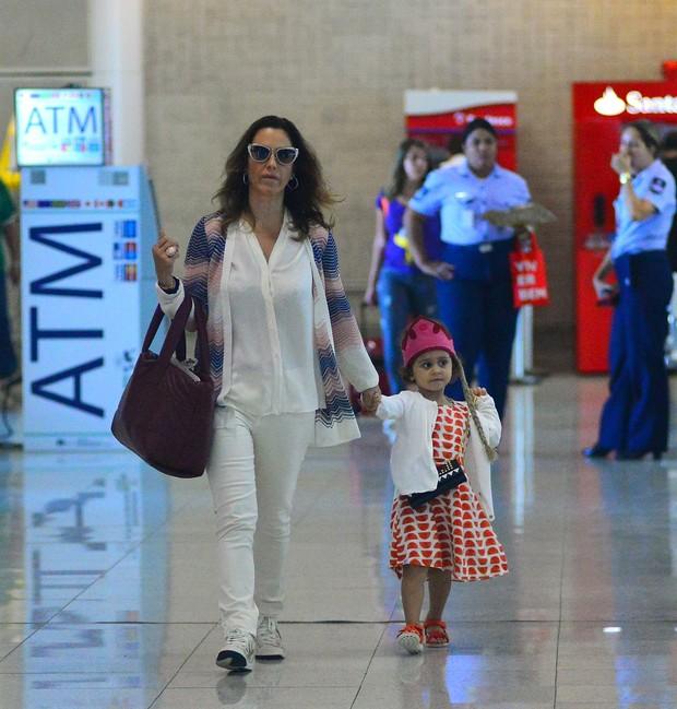 Guilhermina Guinle e filha Mina (Foto: William Oda/Agnews)