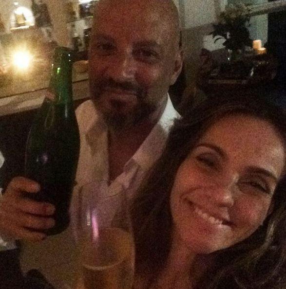 Flávia Monteiro e Avner Saragossy (Foto: Reprodução/Instagram)