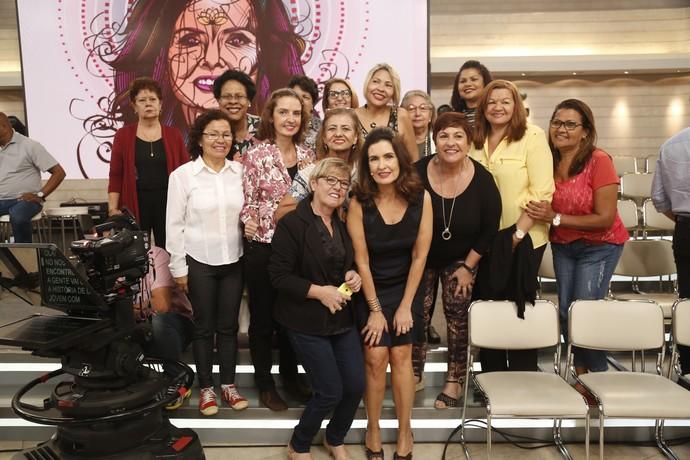Plateia do programa com a Fátima  (Foto: Raphael Dias/Gshow)