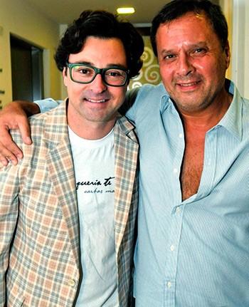 "Victor Garcia Peralta dirigiu Emilio Orciollo Neto em ""Também Queria Te Dizer"" (2012) (Foto: Cristina Granato)"