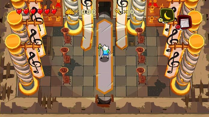 Finn & Jake partem em busca de uma princesa esquecida em Nameless Kingdom (Foto: Divulgação)