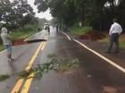 Sul de Minas tem desabrigados e rodovias interditadas após chuvas