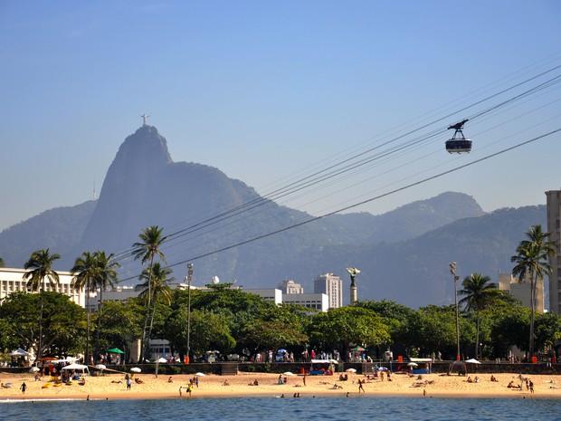 Bondinho do Pão de Açúcar recebeu mais visitantes do que no Carnaval (Foto: Divulgação/ Riotur, Alexandre Macieira)
