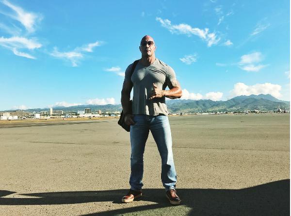 O ator Dwayne 'The Rock' Johnson (Foto: Instagram)