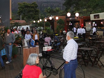 Largo da Rodoviária em Tiradentes (Foto: Alex Araújo/G1)