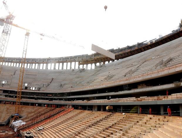 Obras Estádio nacional Mané garrincha  (Foto: Divulgação/ Pedro Ventura)