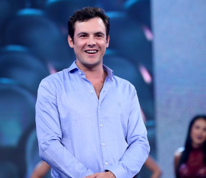 Sergio Guizé participa do Domingão do Faustão (Foto: Carol Caminha/Gshow)