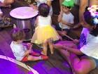 'Grito de Carnaval' agita centro cultural em Santa Cruz do Rio Pardo