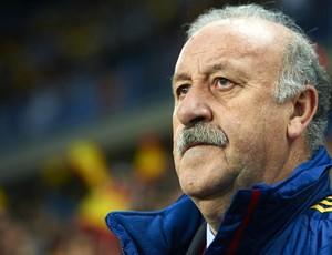 Vicente del Bosque técnico da Espanha (Foto: Getty Images)
