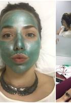 Letícia Colin revela cuidados com a pele e dá dicas para queimar calorias
