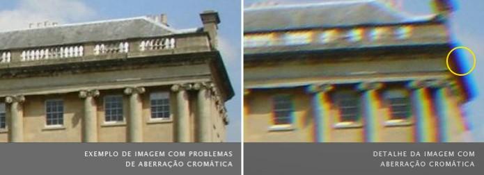 Exemplo de fotografia com aberração cromática (Foto: Reprodução/Wikipedia) (Foto: Exemplo de fotografia com aberração cromática (Foto: Reprodução/Wikipedia))