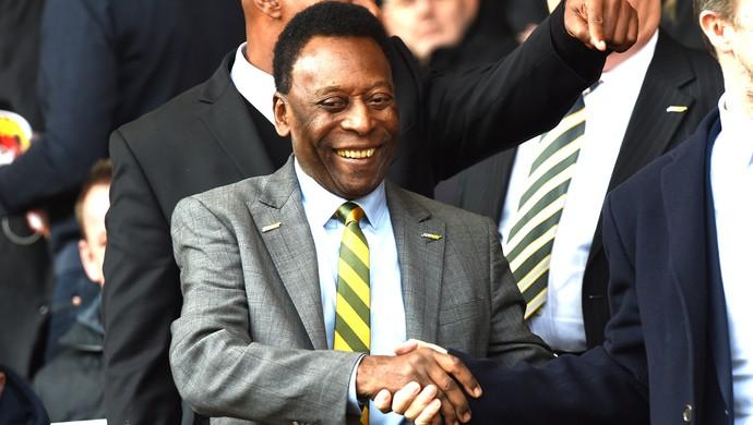 Pelé, Liverpool X Manchester United (Foto: Agência AFP)
