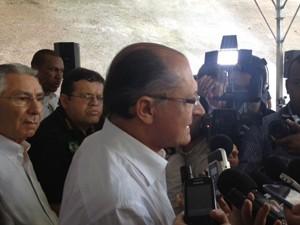 O governador de São Paulo, Geraldo Alckmin  (Foto: Roney Domingos/ G1)