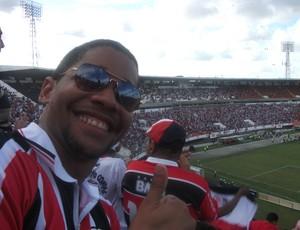 Igor Ramos, torcedor do Santa Cruz no Acre (Foto: Arquivo Pessoal)