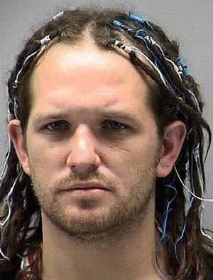Noah Howard, de 29 anos, roubou o cofre no qual estavam guardados os envelopes com dinheiro (Foto: Montgomery County Jail)