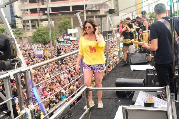 Malu Verçosa, mulher de Daniela Mercury (Foto: Leo Franco/ AgNews)