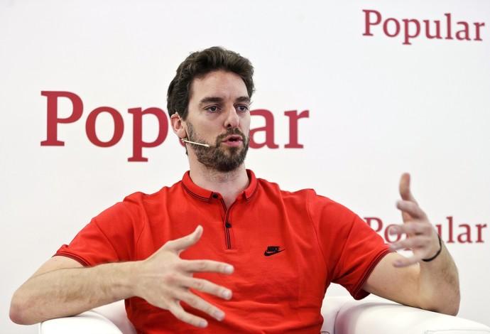 Pau Gasol basquete Espanha (Foto: EFE)