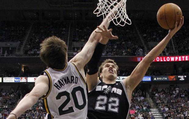 Tiago Splitter, San Antonio Spurs (Foto: AP)