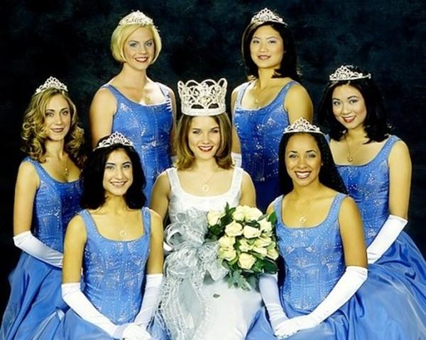 Sophia Bush e outras concorrentes (Foto: Reprodução)