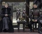 Lena Headey e Nikolaj Coster-Waldau em cena de 'Game of thrones' | Reprodução
