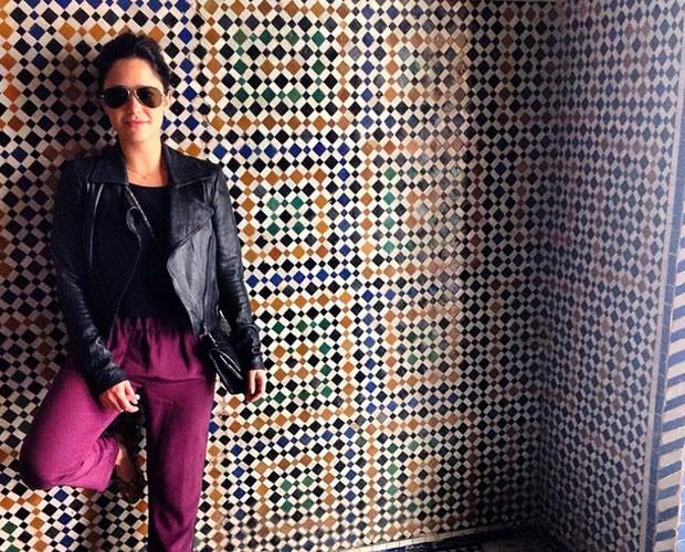 Fernanda Vasconcellos brilha no Truque VIP (Foto: Arquivo Pessoal)