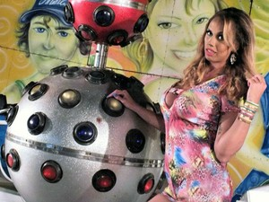 MC Glendha Uberaba eletro funk travesti  (Foto: Glendha Oliveira/ Arquivo Pessoal)