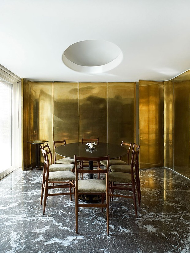 Decoração metalizada: 10 ambientes para brilhar na tendência (Foto: Divulgação)