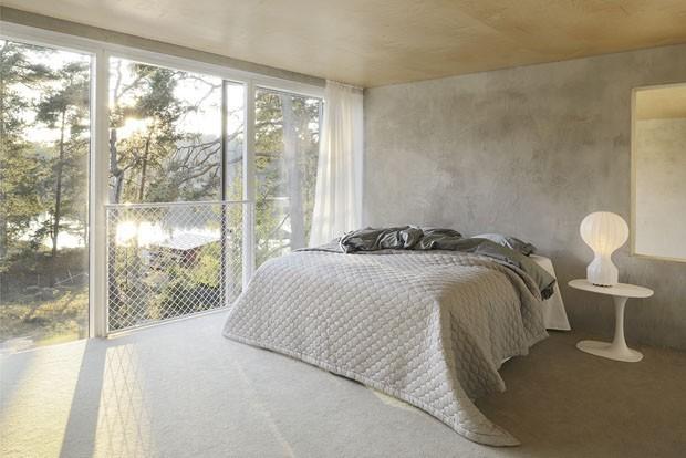 Tons de cinza em 15 quartos elegantes (Foto: Divulga)