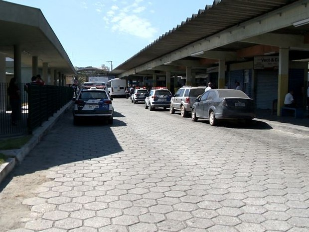 Terminal de Vila Velha (Foto: Reprodução/ TV Gazeta)