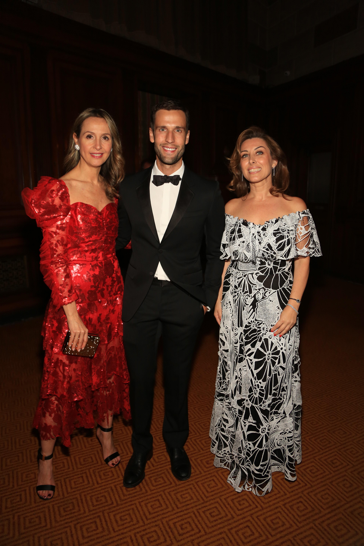 Amalia Thompson Motta, Pedro Andrade e Daniele Behring (Foto: Divulgação)