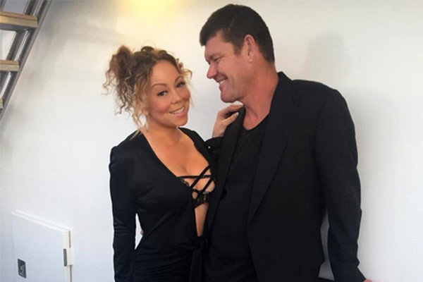 Mariah Carey e James Packer (Foto: Instagram)