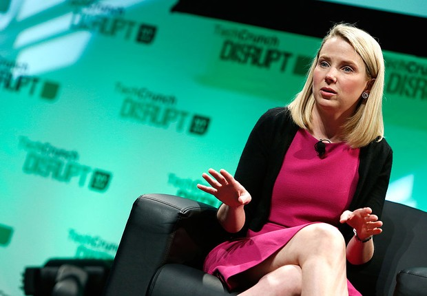Marissa Mayer, CEO do Yahoo (Foto: Brian Ach/Getty Images)