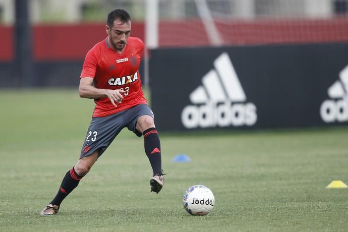 Mancuello treino flamengo (Foto: Gilvan de Souza/Flamengo)