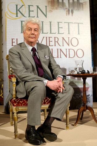 O escritor Ken Follet na Espanha (Foto: Carlos Alvarez/Getty Images)