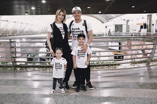 Wesley Safadão e Thyane Dantas vão para Miami (Foto: Instagram / Reprodução)