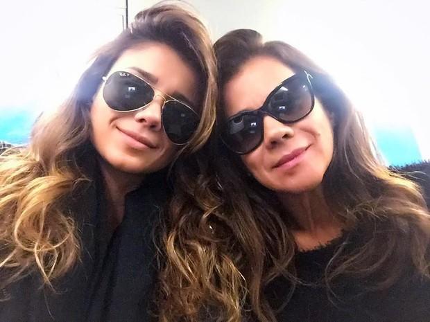 Paula Fernandes e a mãe, Dulce (Foto: Reprodução/Instagram)