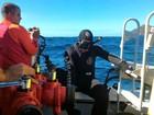 Mergulhador é encontrado no 4º dia de buscas no mar de Búzios, no RJ