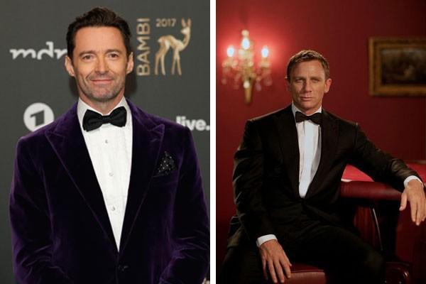 Hugh Jackman e Daniel Craig como James Bond  (Foto: Getty Images/Reprodução)