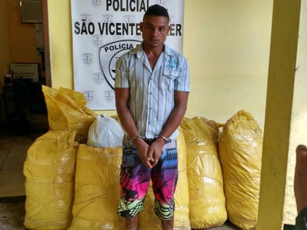 Drogas estavam acondicionadas em nove sacos plásticos (Foto: Divulgação/SSP-MA)