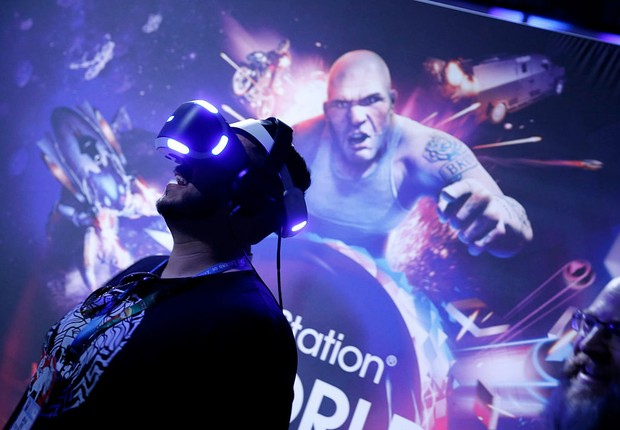 realidade virtual (Foto: Rich Polk/Getty Images for Sony Interactive Entertainment America)