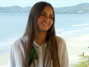 Catarina decidiu leiloar sua virgindade pela internet (Foto: Virgins Wanted/Divulgação)