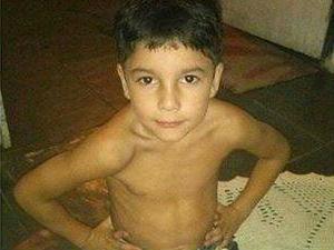 Criança de seis anos estava andando de bicicleta quando desapareceu (Foto: (Reprodução Facebook))