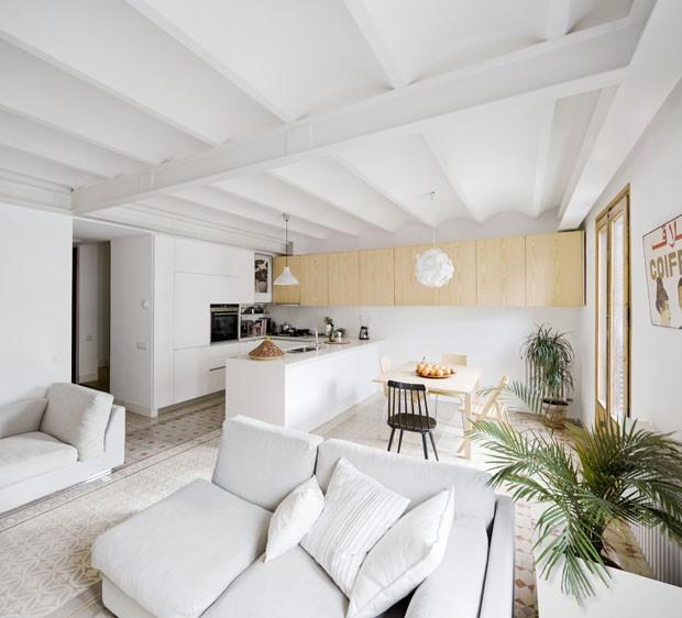 Unir Cocina Y Salon Of Apartamento Catal O Tem 45 M De Varanda Casa Vogue