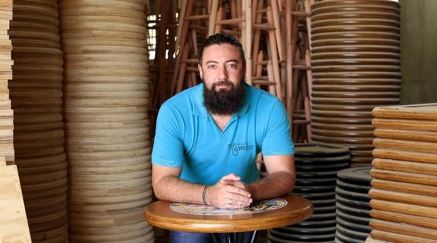 Fagner Adler, Empório Tambo, empreendedor, móveis (Foto: Divulgação)