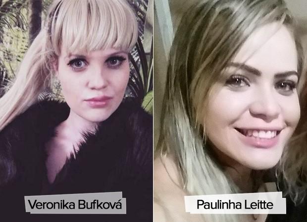 Veronika Bufková e Paulinha Leitte (Foto: Instagram / Reprodução)