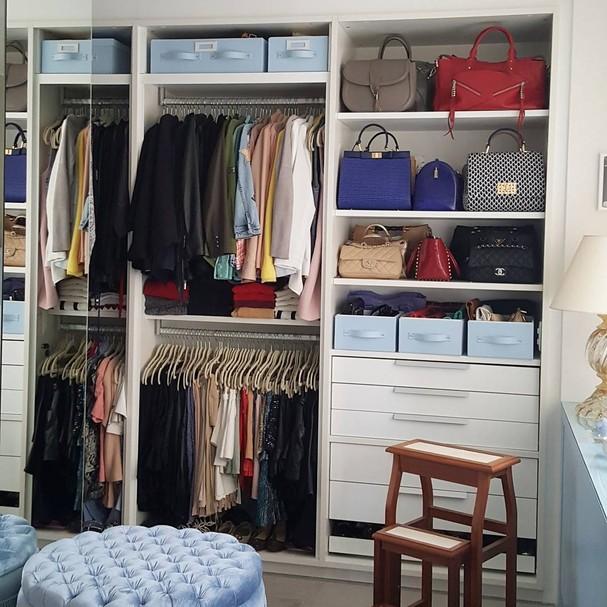 Closet organizado pela Governess (Foto: Instagram/Reprodução)