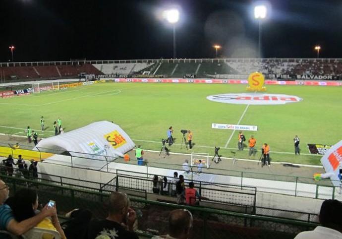 estádio Joia da Princesa, Bahia de Feira x Corinthians (Foto: Diego Ribeiro)