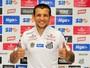 TE: Santos apresenta Vecchio como novo reforço para a temporada