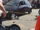 Motociclista morre após ser atingido por carro em cruzamento em Varginha