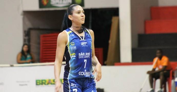 Patricia Ribeiro, jogadora de basquete da seleção brasileira (Foto: Reprodução/Facebook)